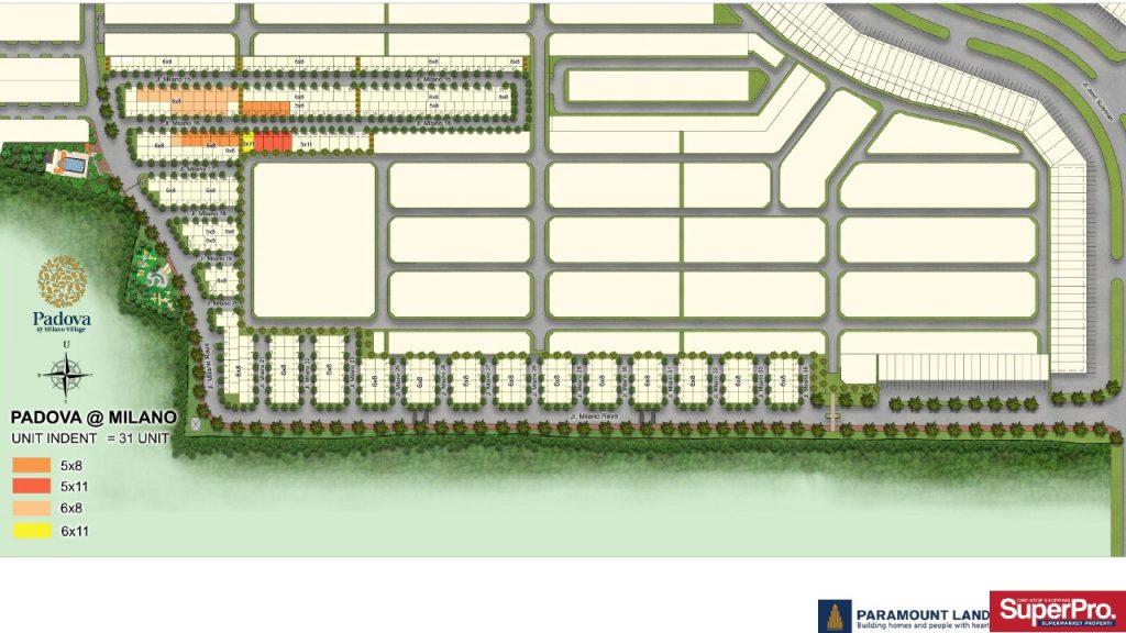 Siteplan Padova