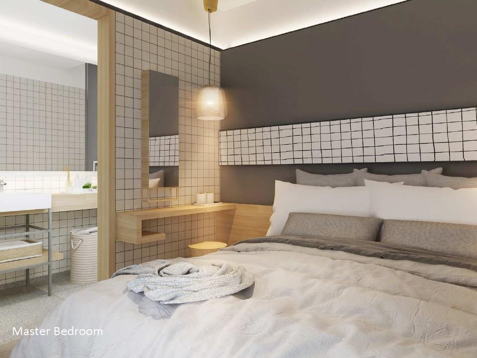 master bedroom Imajihaus