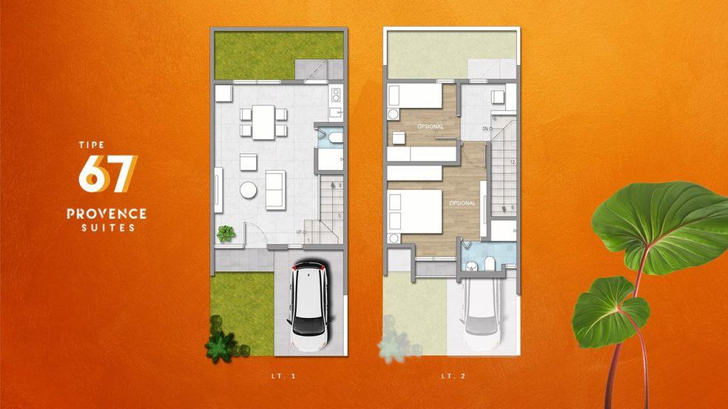 DENAH Provence suites 2 lt