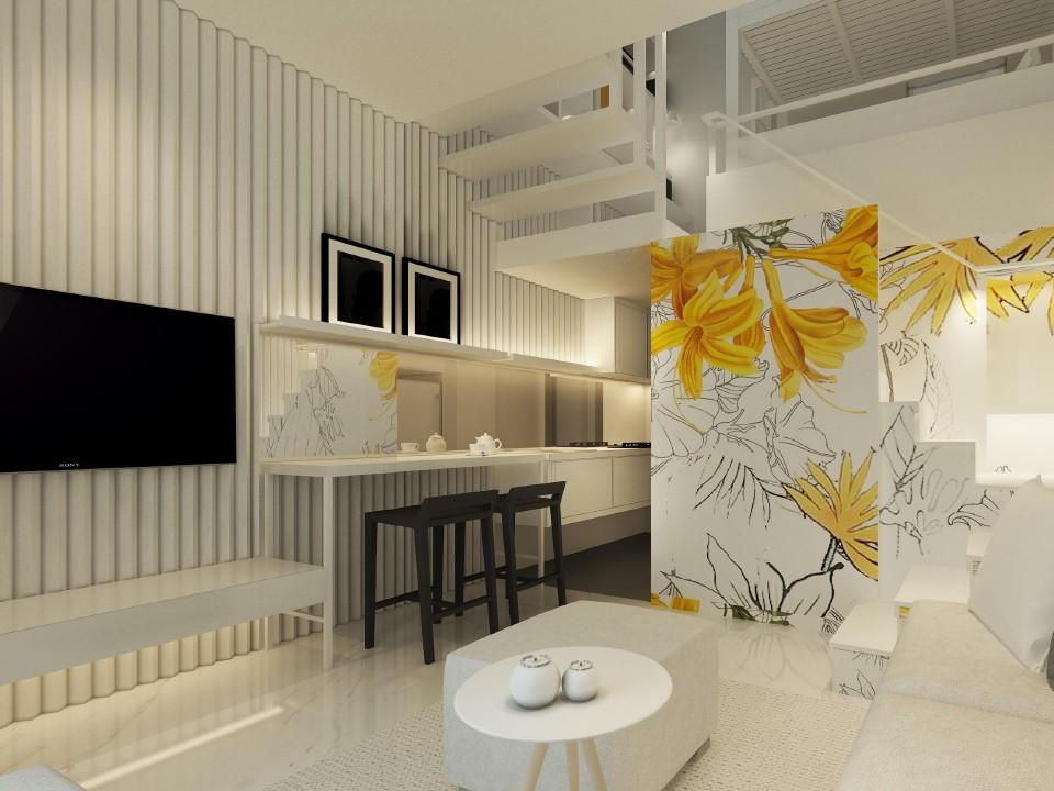 interior lantai 1 tabebuya