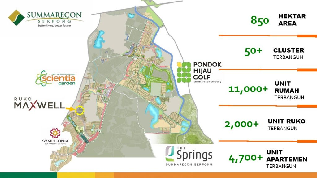 Peta lokasi Ruko Maxwell