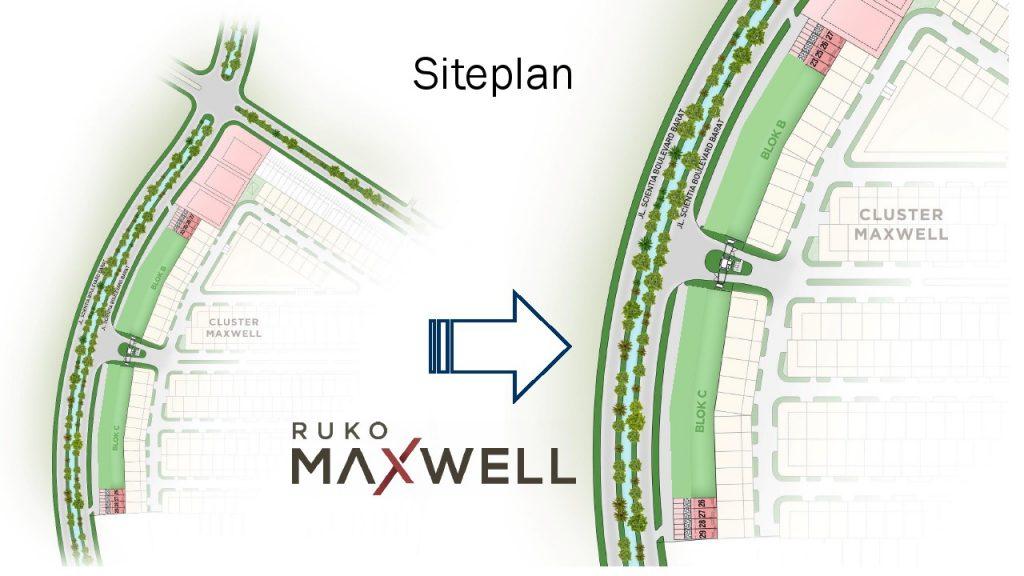 siteplan Ruko Maxwell