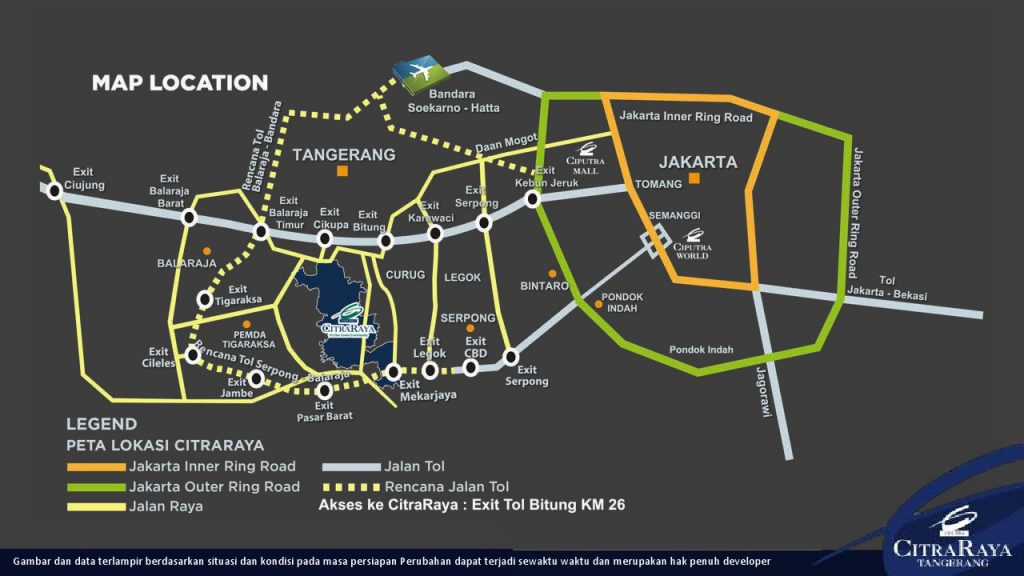 peta lokasi citra raya