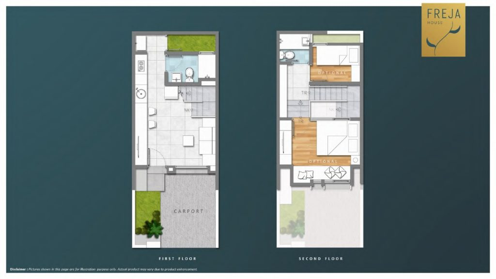 Layout Freja House BSD