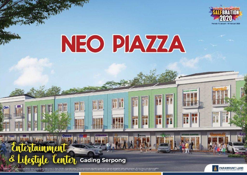 Tampak Ruko Neo Piazza