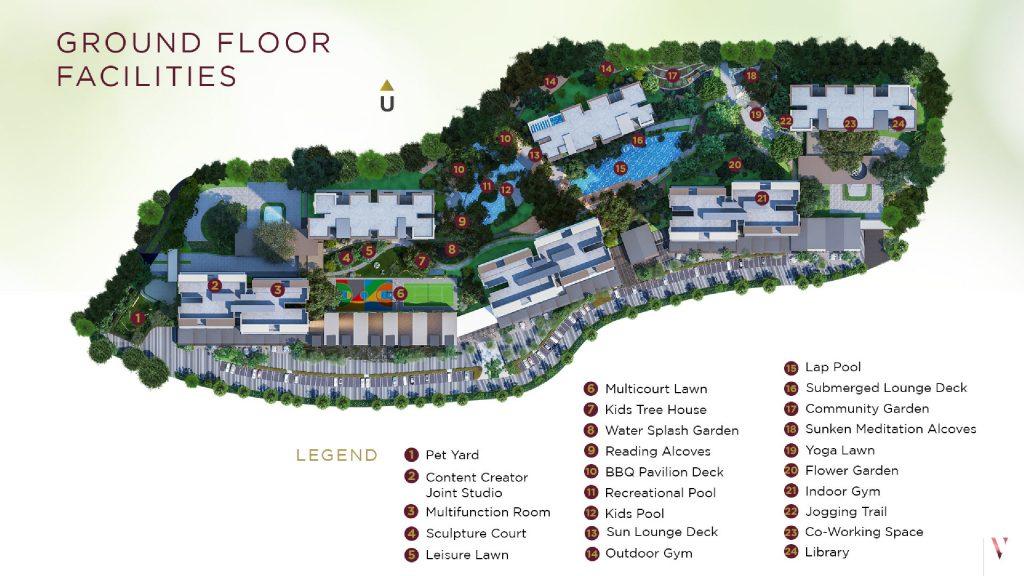 Ground floor facility Elevee