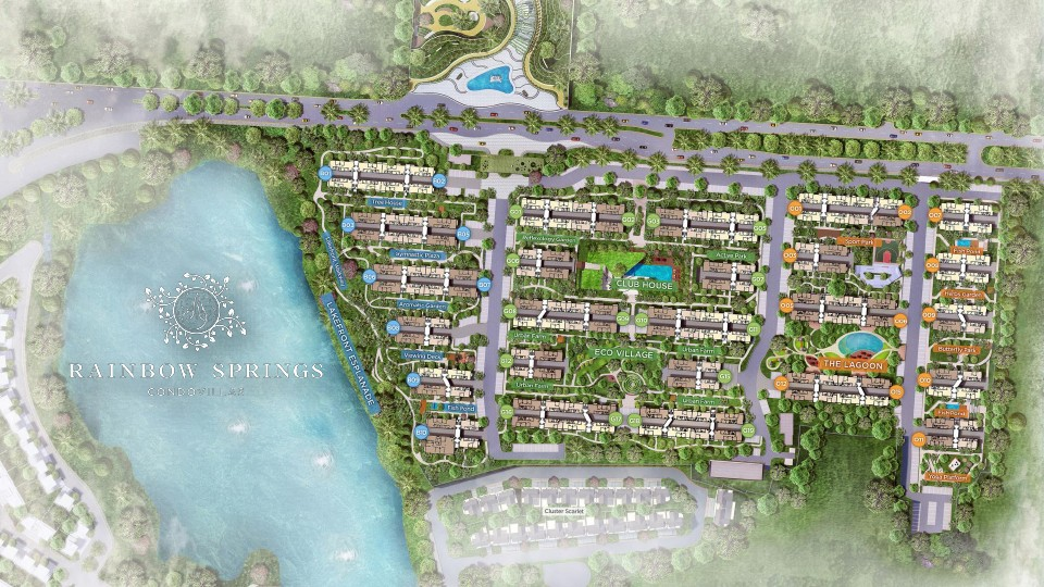 siteplan rainbow springs