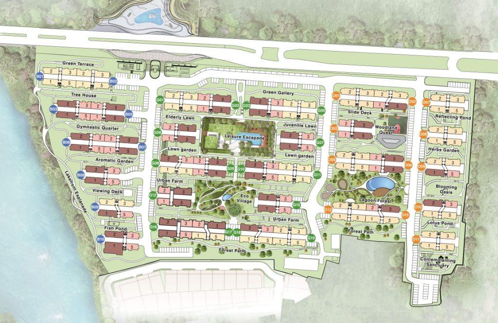 Siteplan Rainbow Springs Condovilla