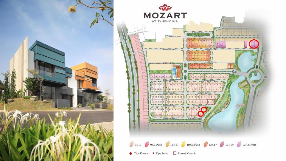 Siteplan Mozart phase 2