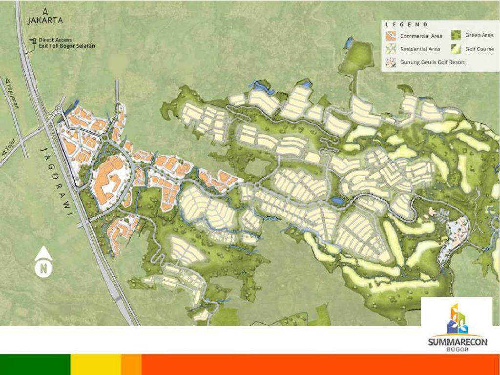 Masterplan Summarecon Bogor