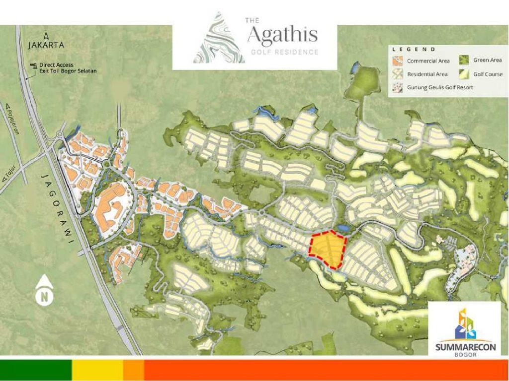 peta Agathis golf residence