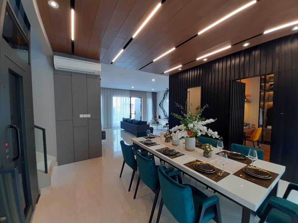 ruang makan mozart L12