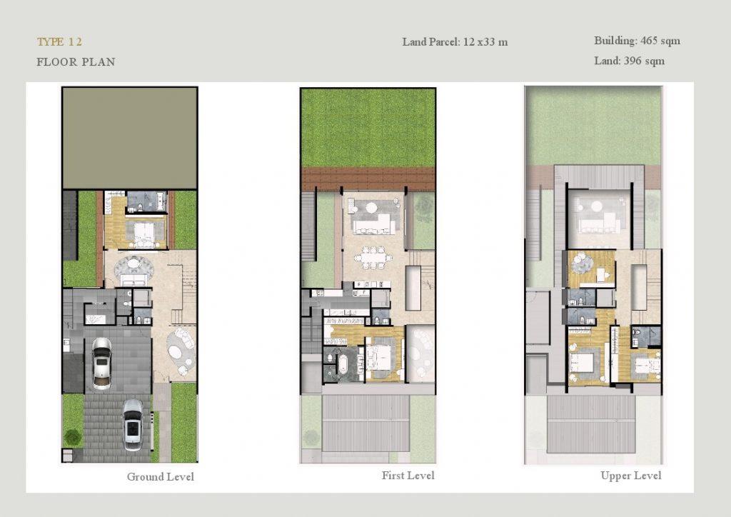 layout lyndon at navapark bsd Tipe 12
