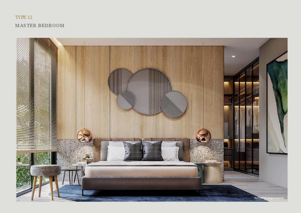 master bedroom lyndon at navapark bsd T12