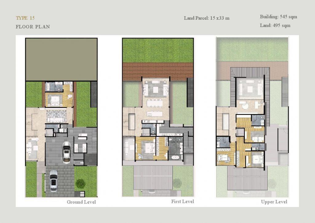 floor plan lyndon at navapark bsd T15