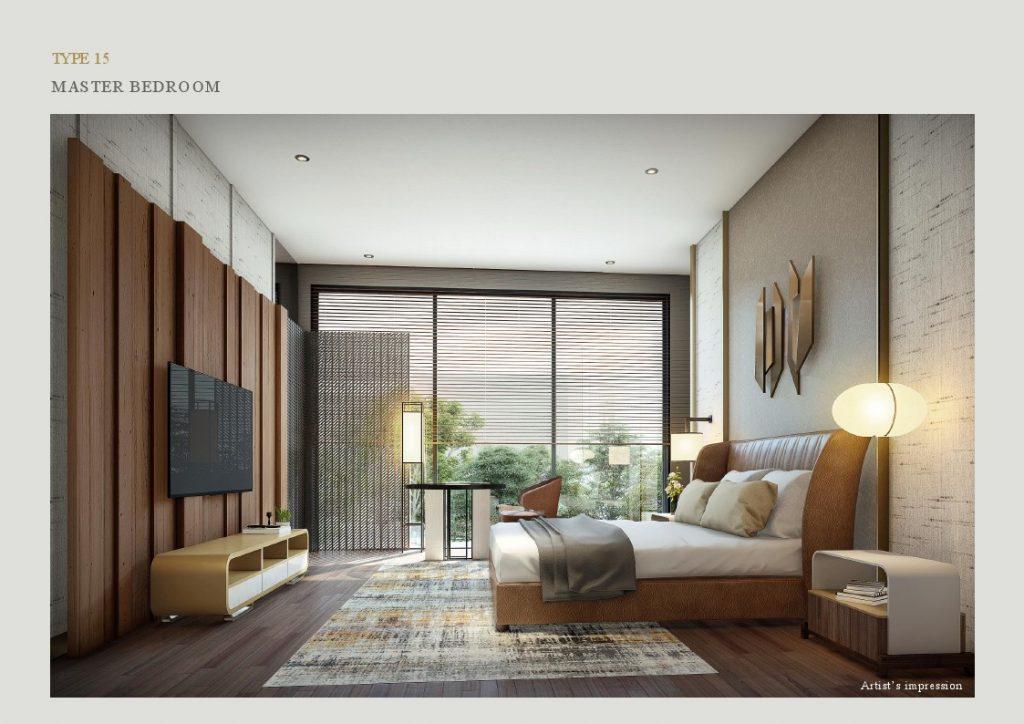 master bedroom lyndon at navapark bsd T15