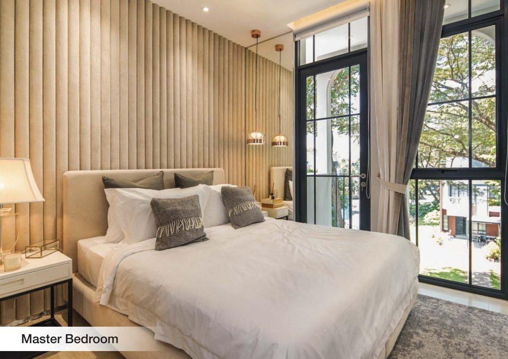 master bedroom aether bsd city